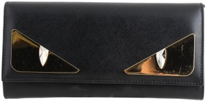 Fendi Fendi Monster Eyes Continental Wallet