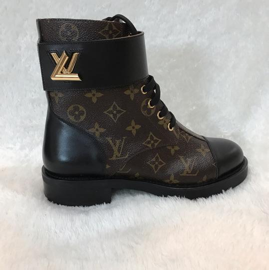 Louis Vuitton brown Boots Image 3