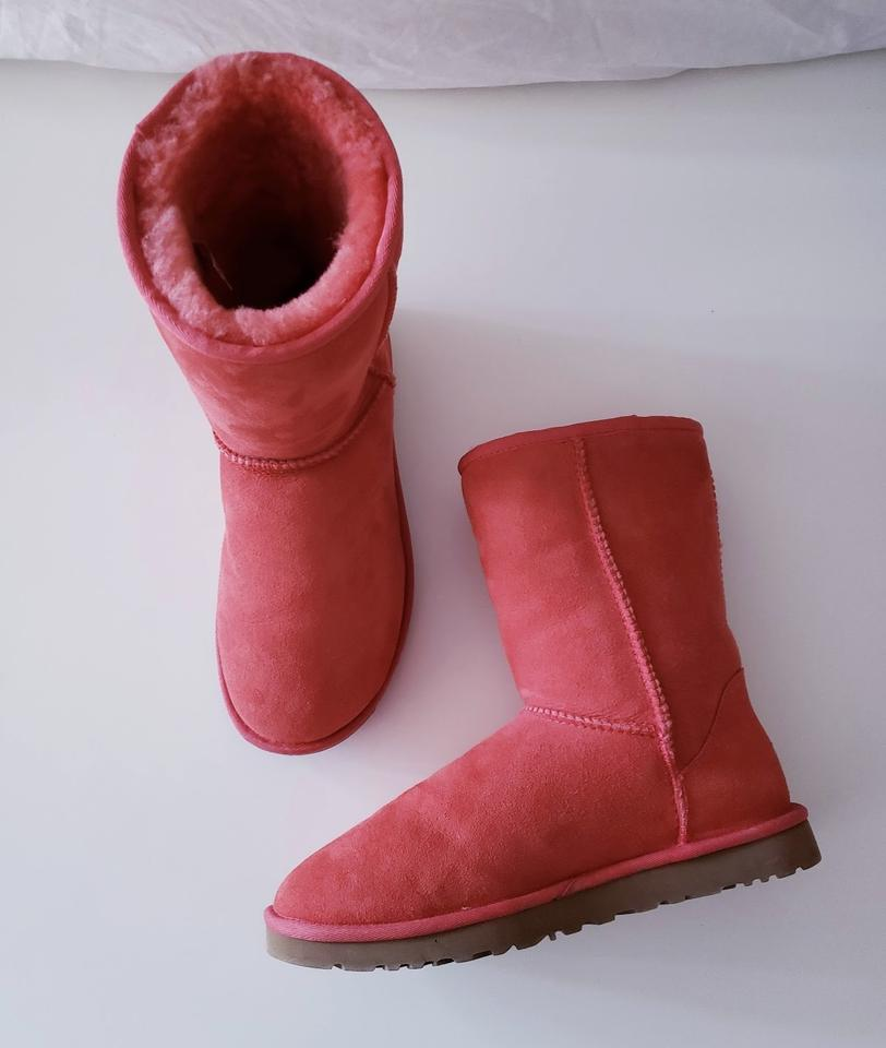 5f6cf8840 UGG Australia Coral New Salmon Color Uggs Boots/Booties Size US 9 ...