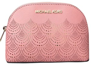 Michael Kors MK Jet Travel leather pouch
