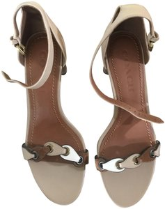 Coach Beechwood/ Chalk/ Saddle Sandals