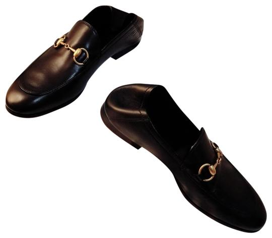 553c3be9 Gucci Black Men's Leather Brixton Loafers/ Runs Big Mules/Slides Size US  6.5 Regular (M, B) 17% off retail