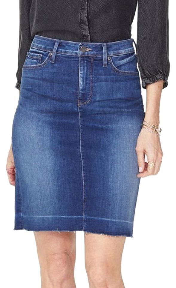 8ceab9bb9b NYDJ Muir Not Your Daughter's Jeans 5-pocket Denim Skirt Size 6 (S ...