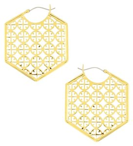 Tory Burch Tory burch Perforated Earrings Gold