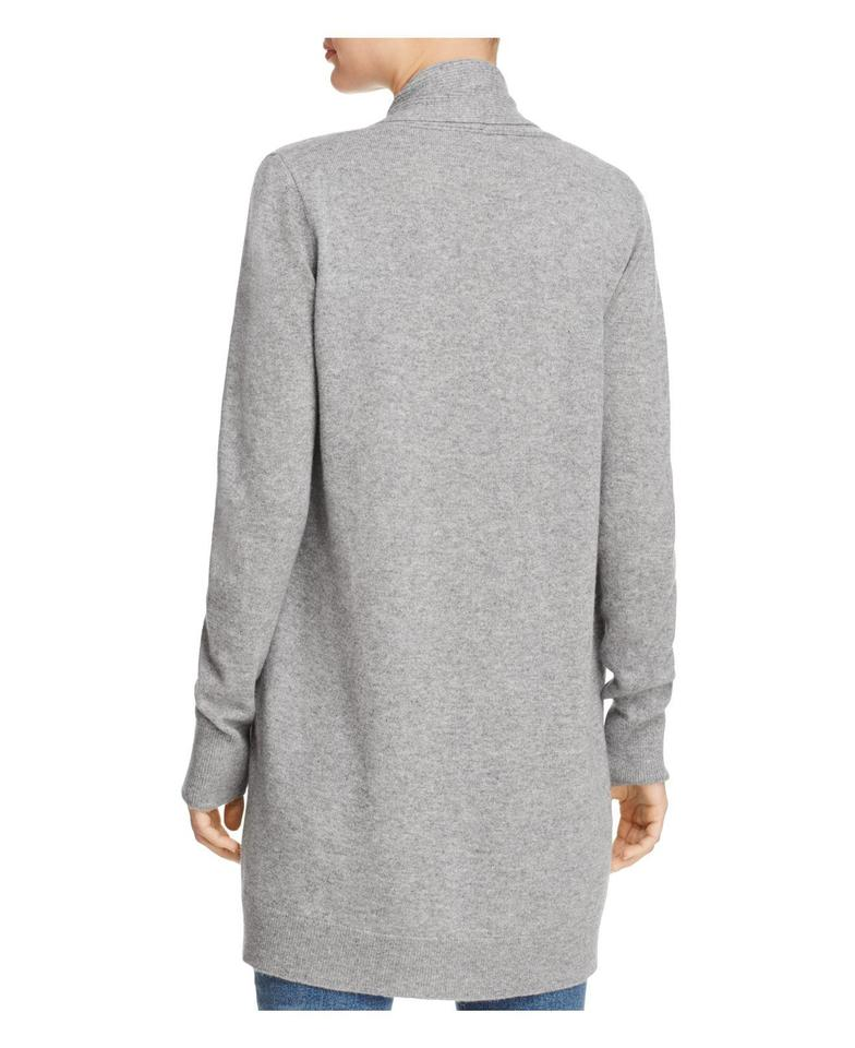 fbdc704208a5 Theory Gray Women s Tie-front Cashmere Sweater Dress Scarf M Cardigan Size  8 (M) - Tradesy