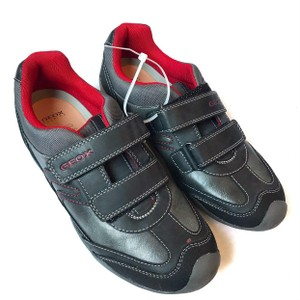 Geox Sneakers Gray Red Athletic