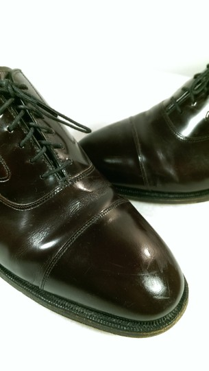 Johnston & Murphy Burgundy Maroon Oxblood Men's Dress Formal 9m Shoes