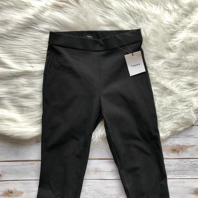 Theory Black Night Out Leggings Skinny Pants Image 1