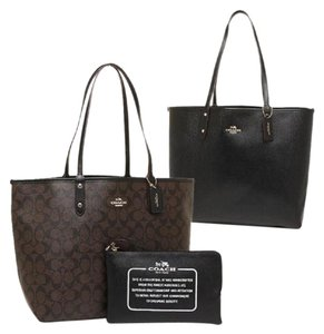 Coach Satchel Shoulder 36126 36609 Tote in brown black