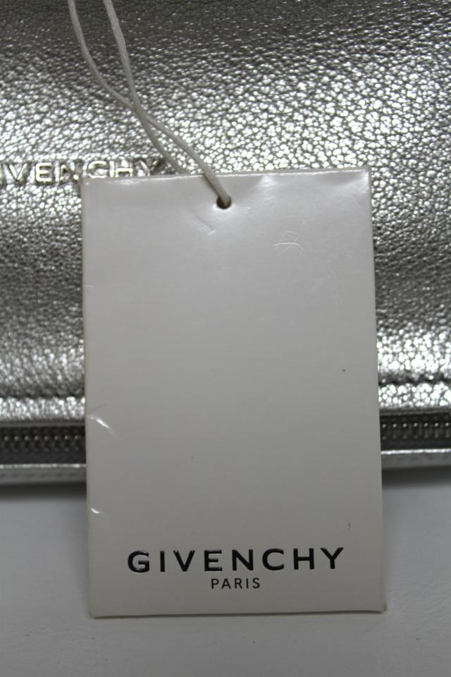 e93d1f7f20 Givenchy New New Pandora Mini Messenger Silver Calfskin Leather Cross Body  Bag - Tradesy