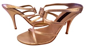 Steve Madden Wedding Cocktail Reception Gold Sandals