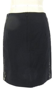 La Perla Sexy Lace Fitted Skirt black