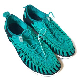 Keen Rubber Knotted Lightweight Sneakers Green Athletic