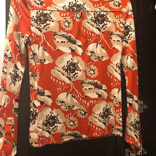 Tory Burch Top Orange Image 2
