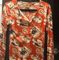 Tory Burch Top Orange Image 3