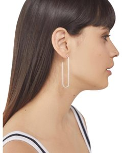 Urban Outfitters Geometric Gold-Plated Hoop Earring