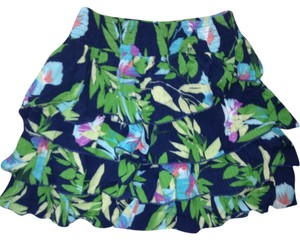 Aeropostale Skirt Green And Navy