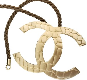 Chanel Pristine Chanel ✿*゚FAMOUS 2007 HUGE CC Choker Necklace