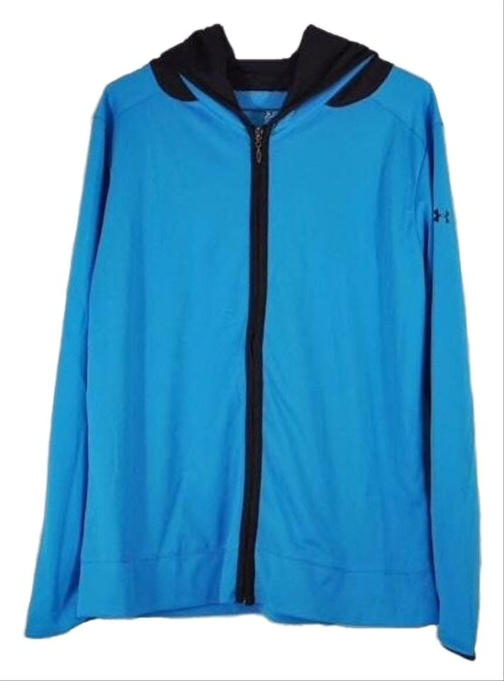 Under Armour Blue Running Jacket Activewear Size 12 (L) - Tradesy 3a3b57c6431e5