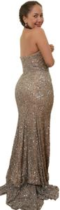 BG Haute Sequin Ball Gown Gown Prom Prom Dress
