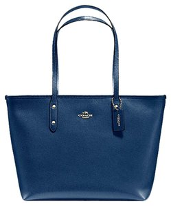 Coach Shoulder 36875 Satchel 36876 Tote in blue