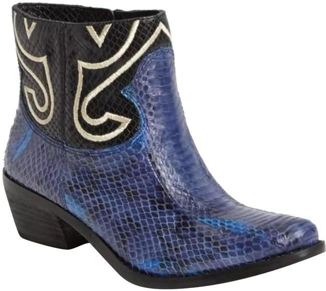 Vince Camuto 'calina' Snakeskin Leather Ankle Boots/Booties Size US 5  Regular (M, B) - Tradesy