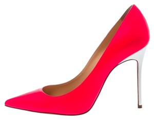 Christian Louboutin Leather Pink Pumps