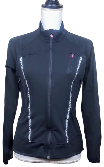 """Item - Black Pink """"Queen Of The Mountain Jacket"""" Activewear Size 2 (XS)"""