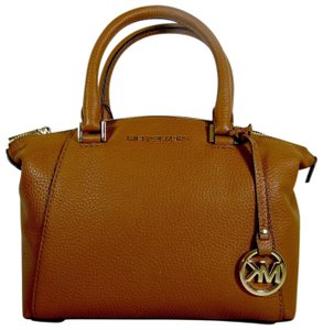 Michael Kors Leather 191935543639 Satchel in Luggage