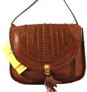 Patricia Nash Designs brown tan Messenger Bag