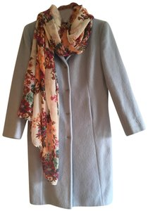 The Limited Wool Mohair Plush Full Length Trench Coat