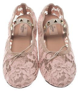 Valentino Ballet Lace beige Flats