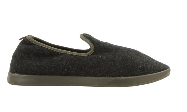 Item - Gray Wool Lounger Flats Size US 10 Wide (C, D)