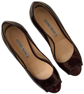 Luciano Padovan burgundy Pumps