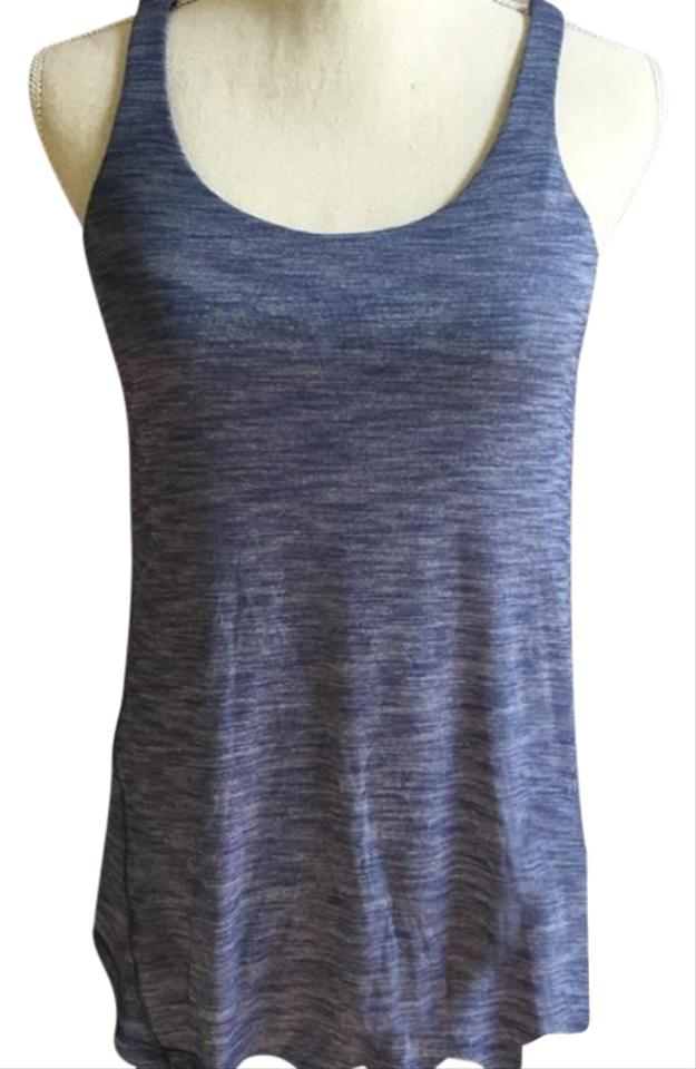 7ae323f7cb596 Lululemon Blue Moment To Movement 2 In 1 Tank Top Cami Size 8 (M ...