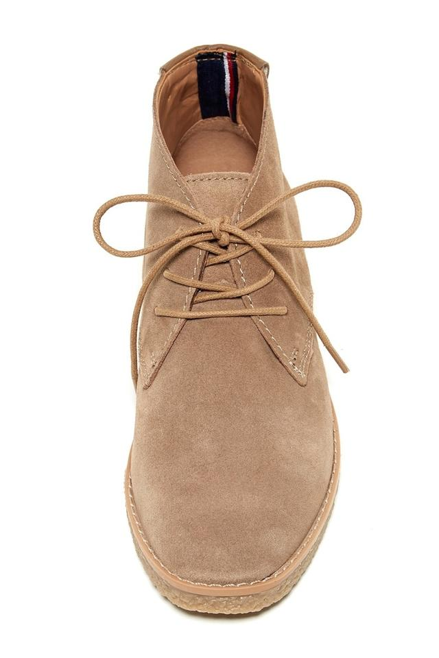 e318ef587 Tommy Hilfiger Tan Tamsu Zakry Chukka Suede Boots Booties Size US 9 ...