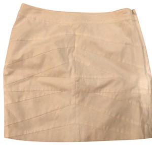 Kenneth Cole Mini Skirt white/bone