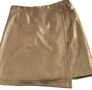 Etcetera Mini Skirt gold