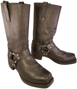 Frye Man Harness Motorcycle Riding Black Boots