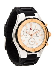 Michele MICHELE (MWW12F000059) TAHITIAN JELLY BEAN BLACK ROSE GOLD WATCH