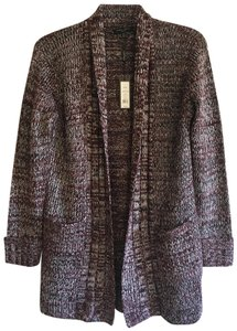 Romeo & Juliet Couture Oversized Chunky Woven Braided Cardigan