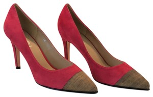 Vaneli Red Suede Pumps