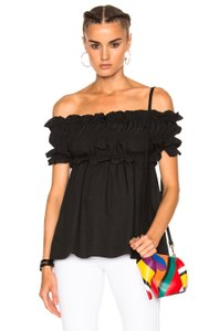 MSGM Tibi Reformation Tory Burch Alice Olivia Elizabeth James Top Black