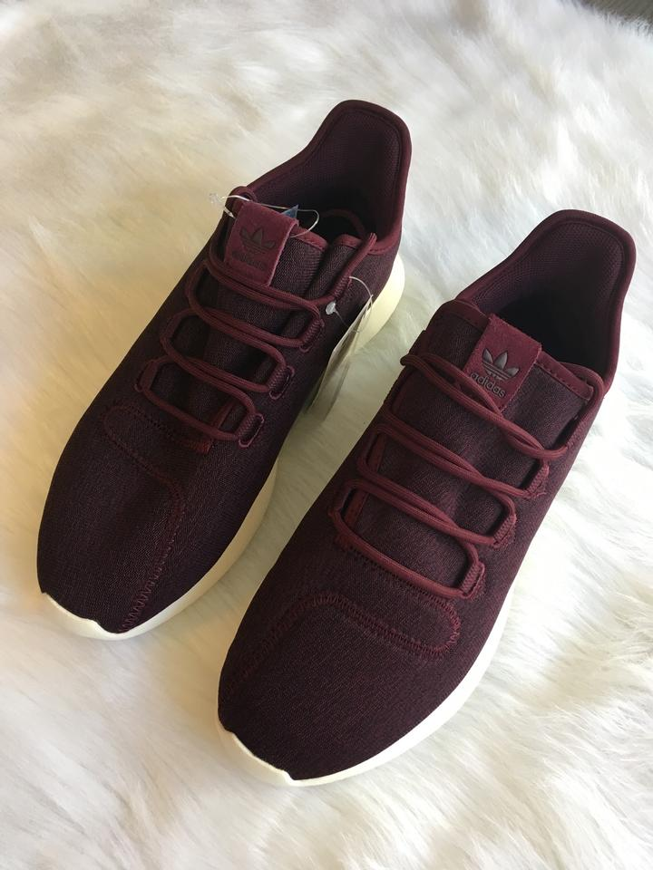 233f636c2d5 adidas Burgundy Bordeaux Women's Tubular Shadow Cushion Street ...