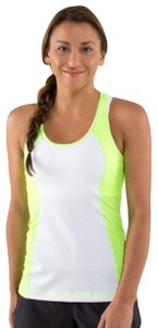 Lululemon Lululemon Cool Racerback *Mod Waves White / Zippy Green Sz6. Excellent