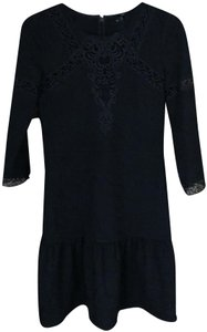 The Kooples Lace Inserts Fine Details Party Dress