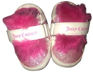 Juicy Couture white and pink Athletic