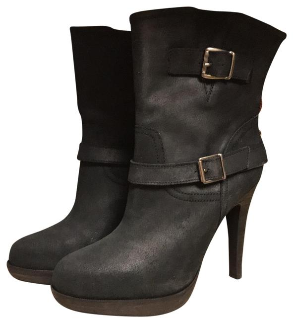 Steve Madden Black Round Toe Boots/Booties Size US 9.5 Regular (M, B) Steve Madden Black Round Toe Boots/Booties Size US 9.5 Regular (M, B) Image 1