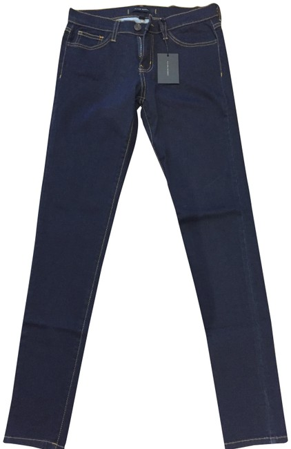Preload https://img-static.tradesy.com/item/24414380/flying-monkey-blue-dark-rinse-skinny-jeans-size-26-2-xs-0-1-650-650.jpg