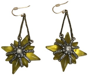 Lulu Frost Brand new, never worn, Earrings one of the kind.